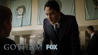 penguin gives some deadly advice to a young child season 3 ep 6 gotham