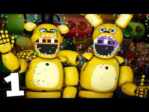 PLAYING AS SPRING FREDDY! || Dayshift at Freddy's 2 (Five Nights at Freddys)