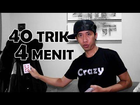 SULAP 40 TRIK DALAM 4 MENIT !!