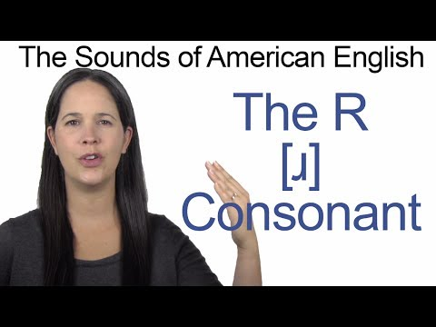 English Sounds - R [ɹ] Consonant - How to make the R [ɹ] Consonant