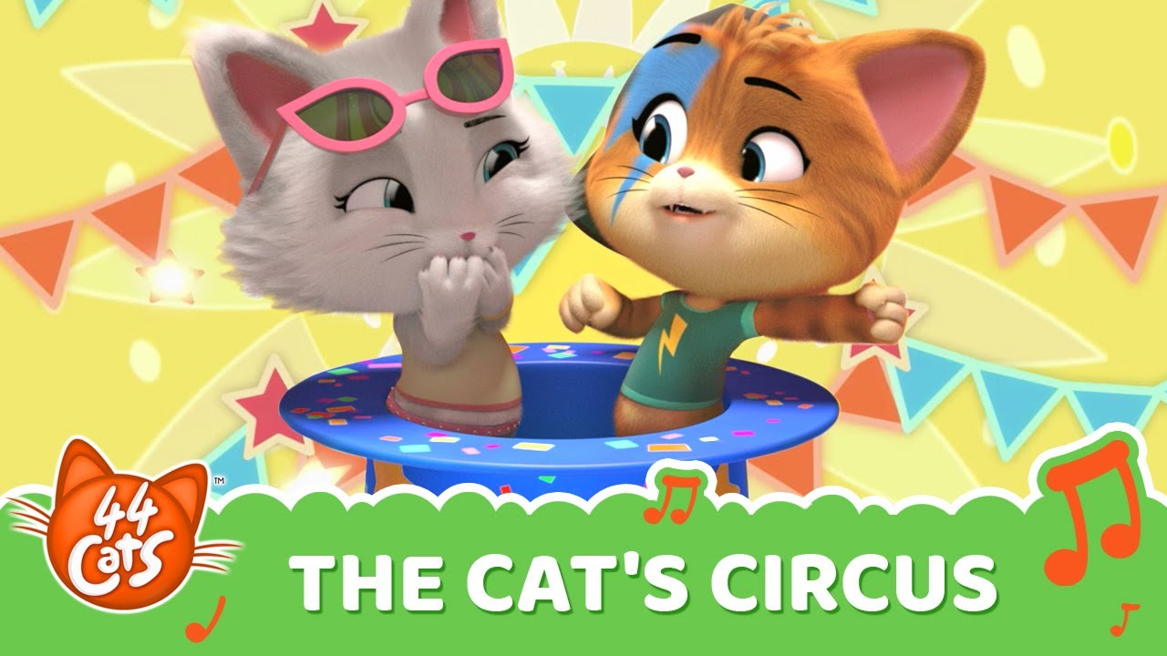 "44 Cats | ""The Cat's Circus"" song [VIDEOCLIP]"