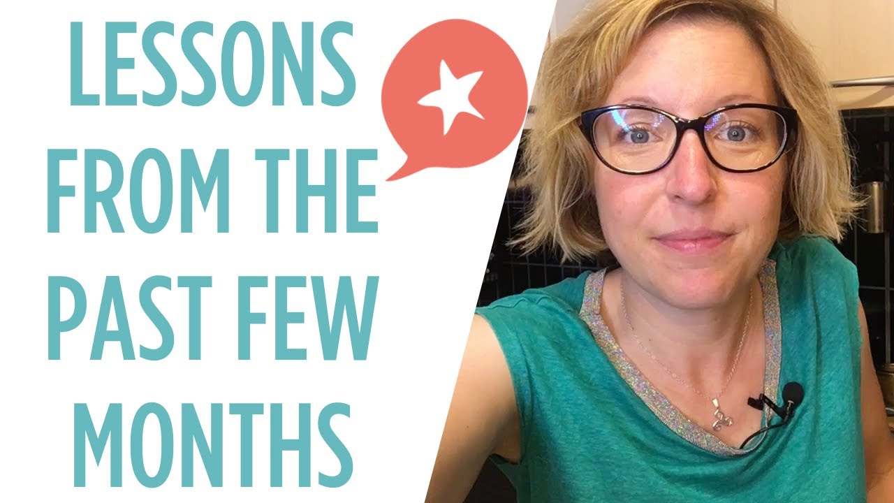 Fear, ups & downs, community, and making time for yourself