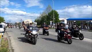 XX Moto susret - Sremska Mitrovica - Defile 02.05.2015.