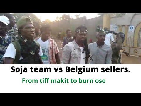 The belgium vs SLPP Soja team incident, Wetin di government say?