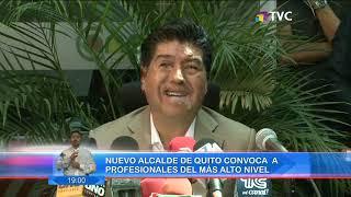 Jorge Yunda es el nuevo alcalde de Quito y ya piensa en su equipo thumbnail