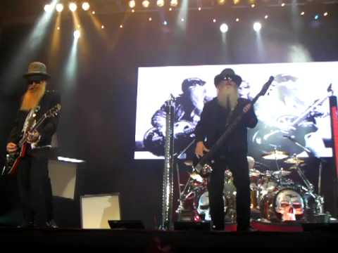 ZZ Top - Clearfield PA - Ending -  Tush Part 2