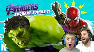 Avengers: ENDGAME in WWE 2k19 #2 (Royal Rumble Match) KidCity Gaming