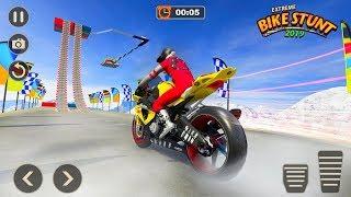 Extreme Bike Stunts 2019 - Android Gameplay HD