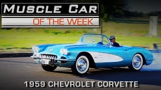 1959 Chevrolet Corvette 283 Fuel Injection | Muscle Car Of The Week Episode #192 Video