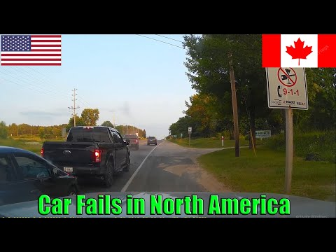 Road Rage USA & Canada | Bad Drivers, Fails, Crashes Caught On Dashcam In North America 2019