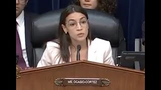 Ocasio-Cortez goes viral with powerful exchange as chair of first hearing