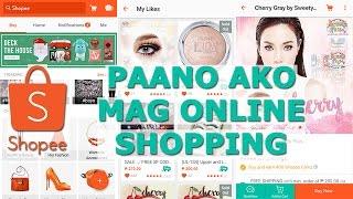 Shopee Demo 1: How to shop using Shopee PH App (Tagalog) | ChubbyChiniCatt screenshot 3