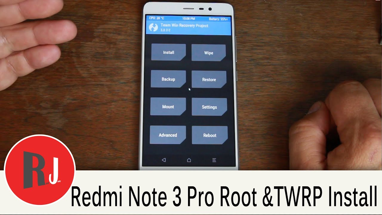 How To Install TWRP Recovery & Root the Redmi Note 3 Pro