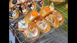 Different Desserts in Thailand Bangkok | Thai Street Food Sweets