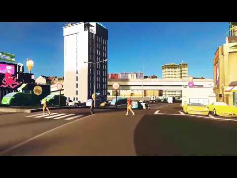 Cities:Skylines. Travel in the city