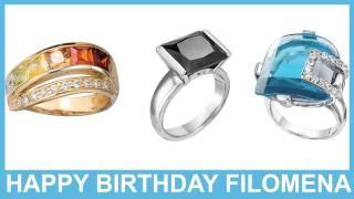 Filomena   Jewelry & Joyas - Happy Birthday