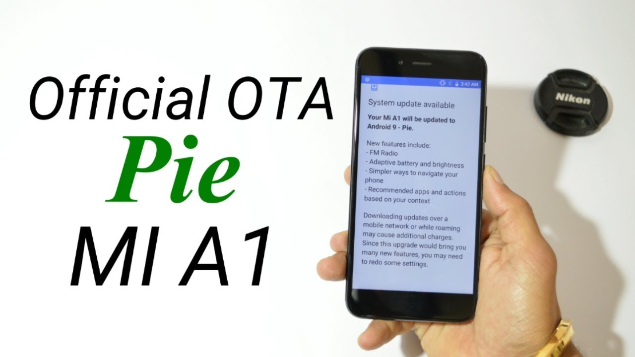 Xiaomi Mi A1 : Official Stable OTA Android Pie now available