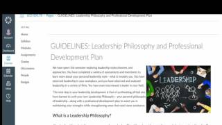 personal leadership philosophy paper