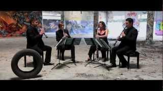 candide overture by leonard bernstein quatuor de clarinettes anches hantées