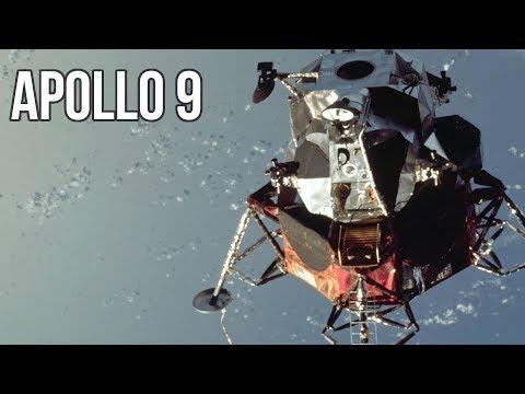 VIDEO Apollo 9 - Le module lunaire qui n'a jamais vu la Lune