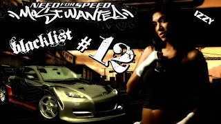 NEED FOR SPEED:MOST WANTED 2005 #12 IZZY