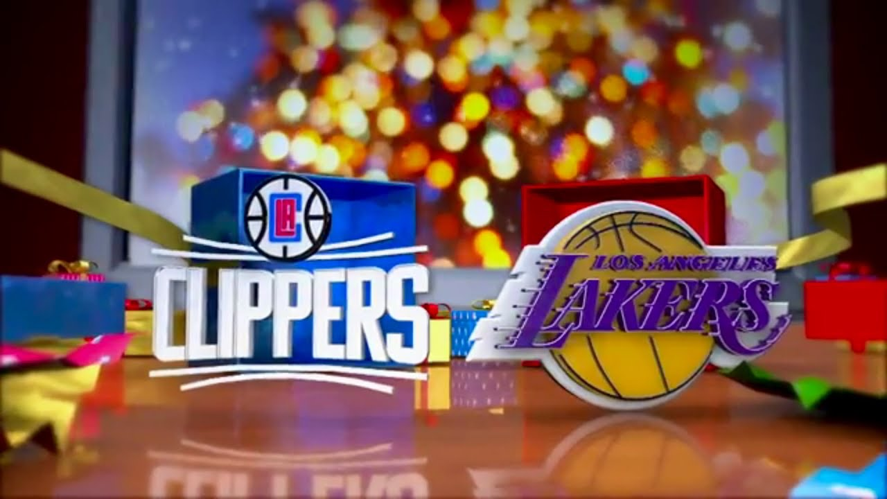 NBA 2K16: Clippers vs Lakers Christmas Day - YouTube