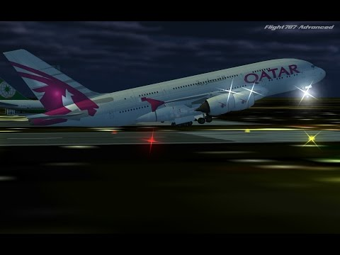Flight 787 - Advanced - Airbus A380 - [QATAR Airways from EMIRATES (OMDB) To SUDAN (HSSS)]