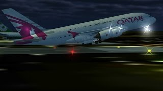Flight 787 - Advanced - Airbus A380 - [QATAR Airways from EMIRATES (OMDB) To SUDAN (HSSS)]