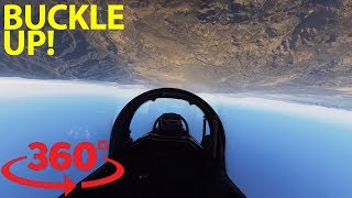 Take control of a fighter jet over Southern California in VR thumbnail