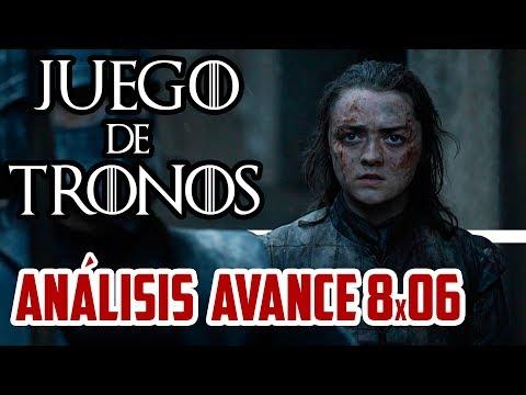 AVANCE JUEGO DE TRONOS 8x06 | La Reina de las cenizas