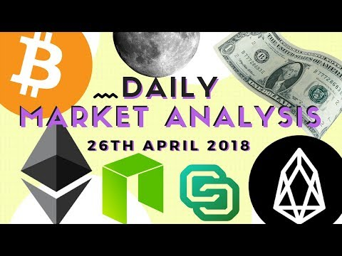 Daily Technical Analysis - BTC, ETH, NEO, EOS and COLX
