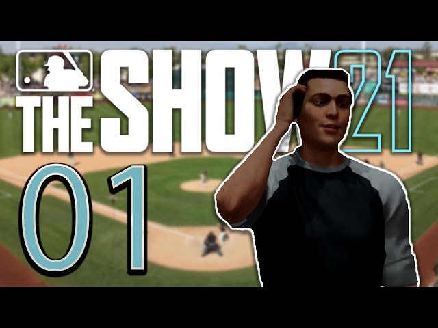 MLB THE SHOW 21 | Road to the Show | Let's Play - #01