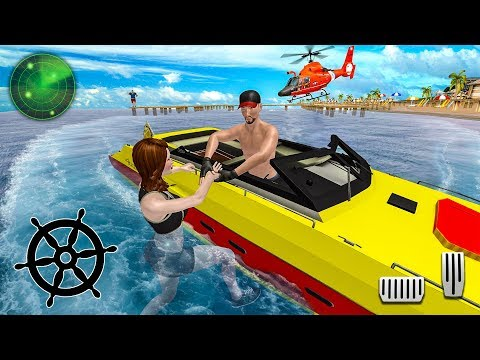Swimmers Safety Emergency Services - Coast Lifeguard Beach Rescue Duty - Android Gameplay