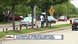 Police: Carjackers targeted Detroit casino high-rollers