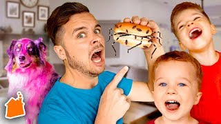 Funny April Fools Sneaky Jokes for Kids! (Parents Vs Kids)