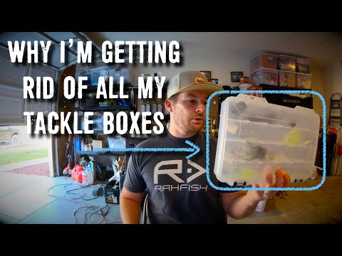 Why I am Getting Rid of all my Tackle Boxes  – Going Waterproof  – Plano Tackle Box