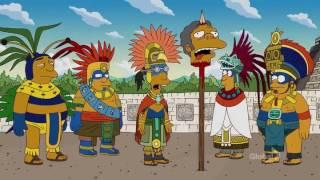 The Simpsons Mayan Calendar Great Screw-Up
