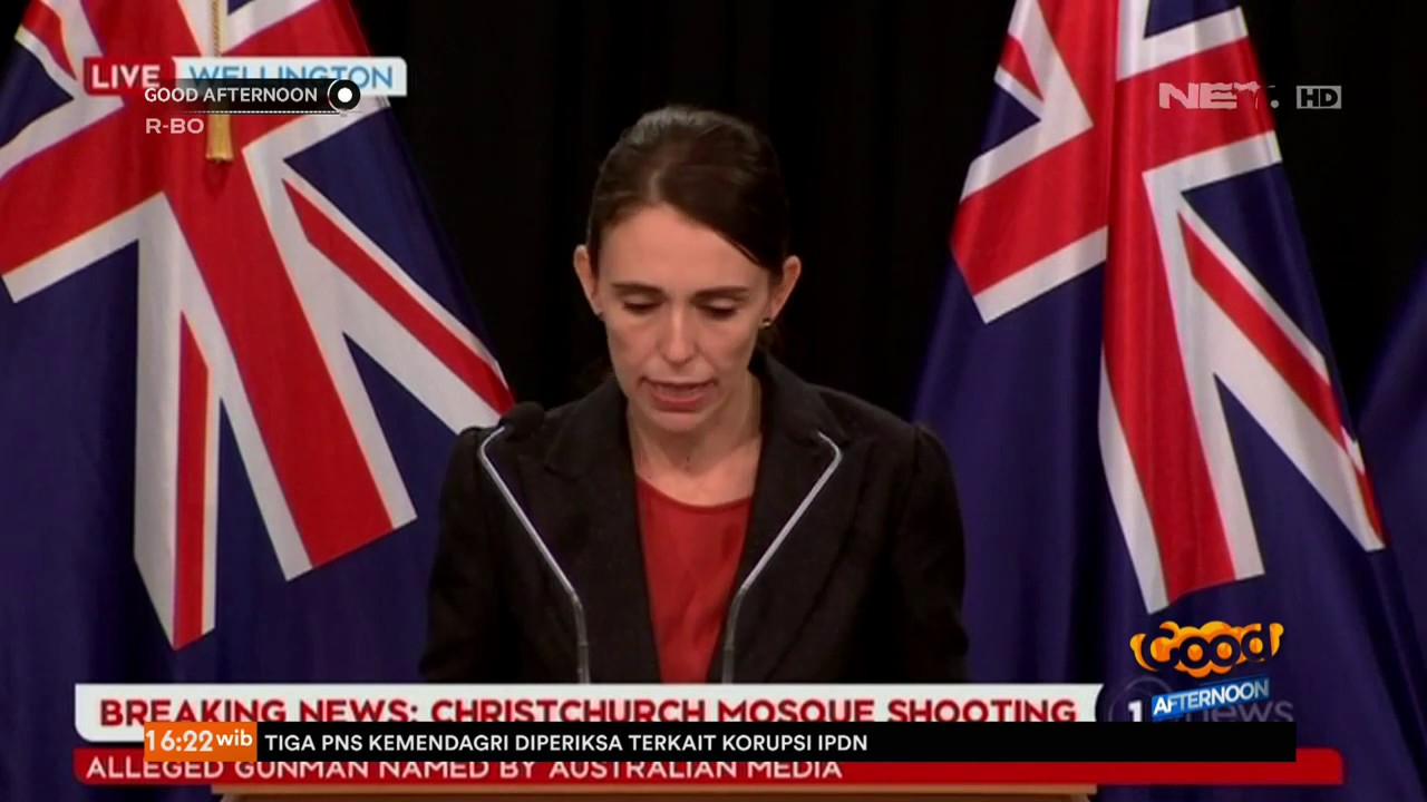 Teror Selandia Baru Image: Serangan Teror Masjid Di Kota Christchurch, Selandia Baru