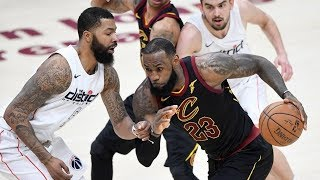 New Cavs Lose 1st Game Since Trade! Wizards 8-2 Without Wall! 2017-18 Season