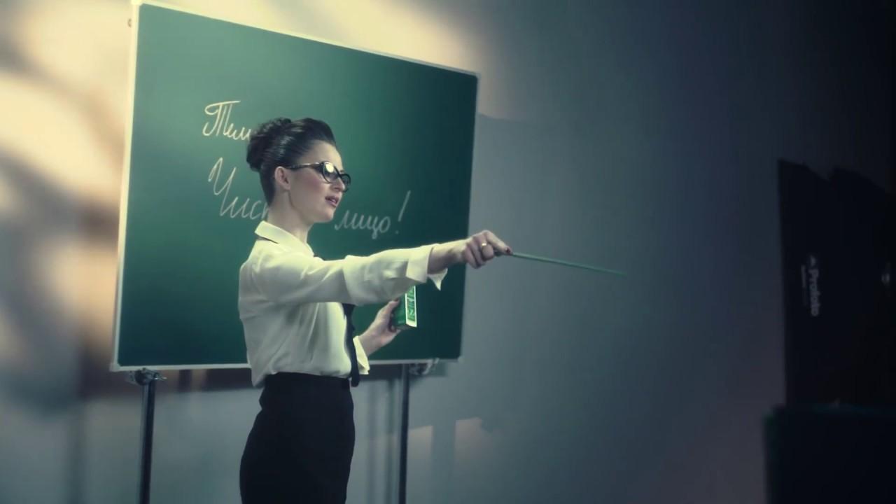 Юлия Пушман на съёмочной площадке бренда Либридерм!