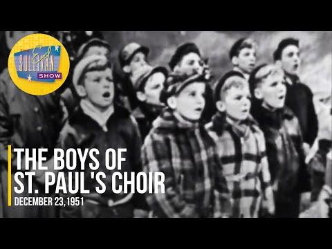 """The Boys of St. Paul's Choir School """"Silent Night"""" on The Ed Sullivan Show"""