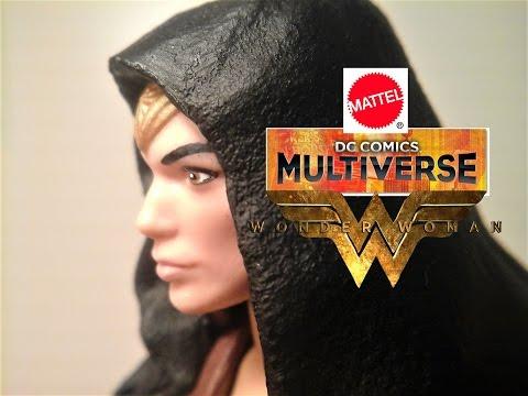 Fu-Reviews: Mattel DC Comics Multiverse Wonder Woman Movie Caped Figure (Collect & Connect Ares)