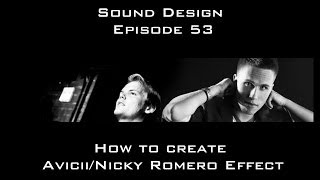 Creating The I Could Be The One Effect Sound Design Episode 53