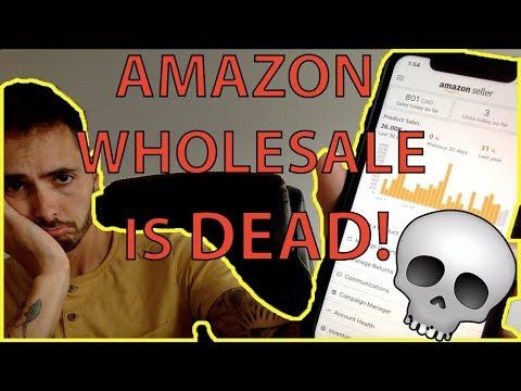 Amazon FBA Wholesale IS DEAD