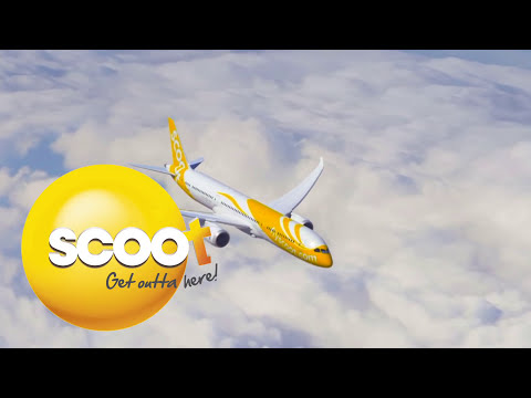 Scoot Airlines 787-9 Sydney To Singapore