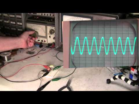 LC Resonance Oscilloscope Demo