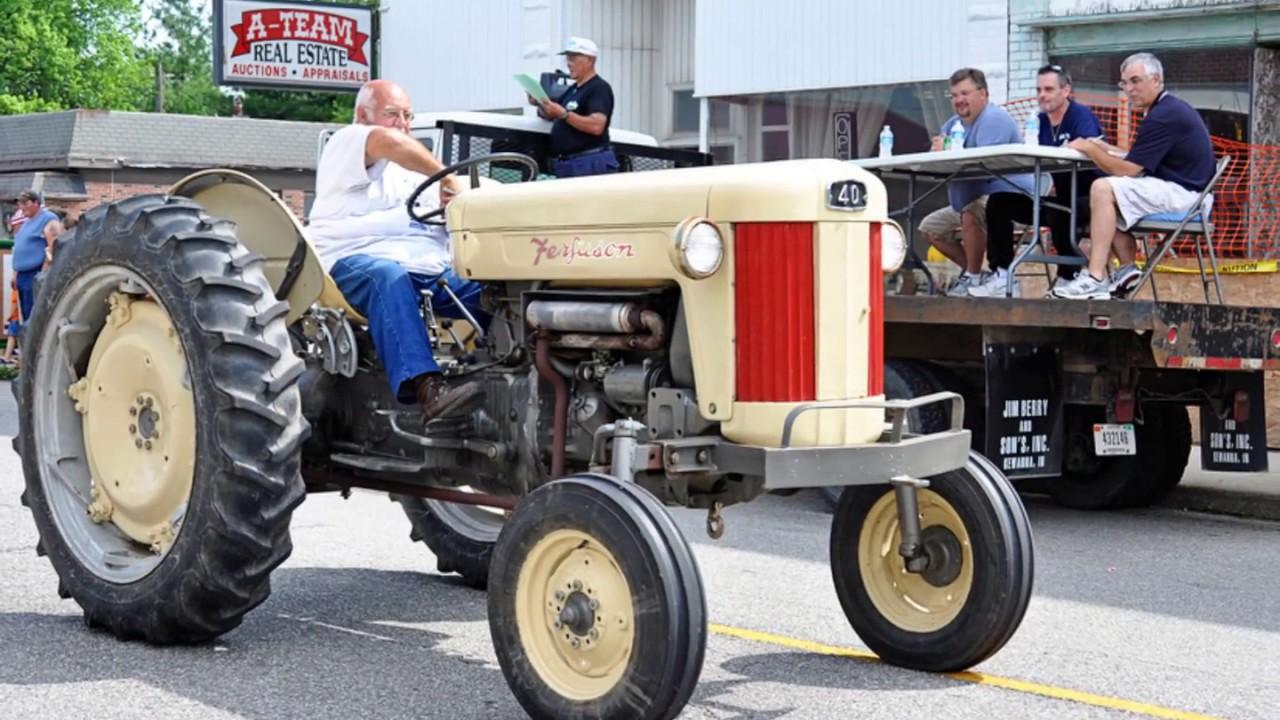 1956 Massey Ferguson 40 Tractor : The ferguson f tractor youtube