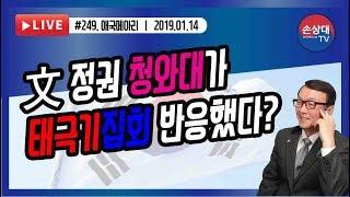 文정권 청와대가 태극기집회 반응했다? (2019. 1. 14)