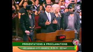 Motörhead honored by Los Angeles City Council