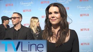 Lauren Graham  |  Gilmore Girls Red Carpet Premiere Interview  |  TVLIne
